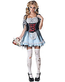 Adult Zombie Beer Maiden Costume