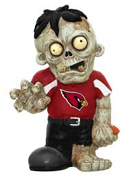 Arizona Cardinals Zombie Figurines