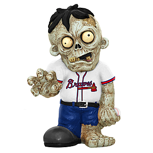 Atlanta Braves Zombie Figurines