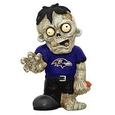 Baltimore Ravens Zombie Figurines