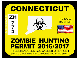 Connecticut Zombie Hunting Permits