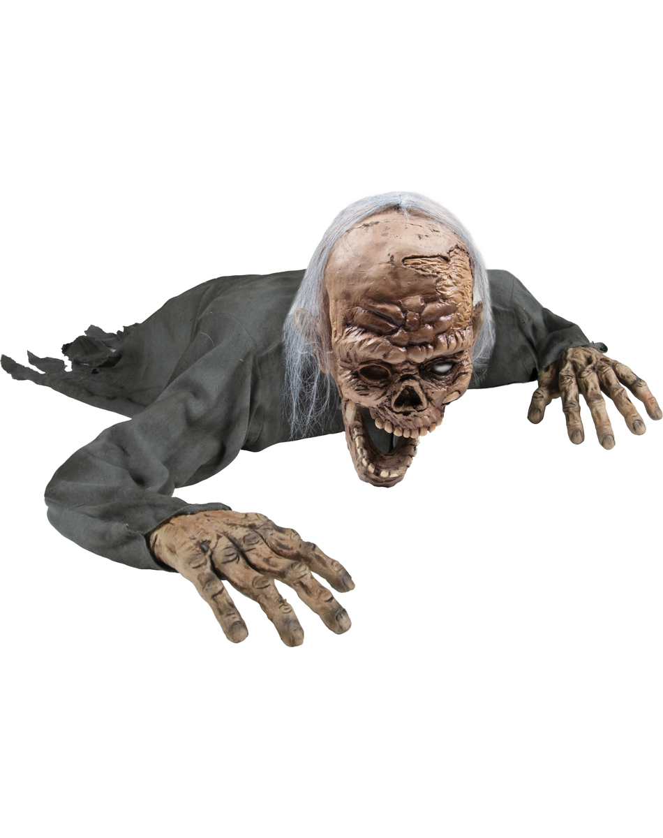 Crawling Zombie Animated Prop