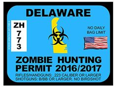 Delaware Zombie Hunting Permits