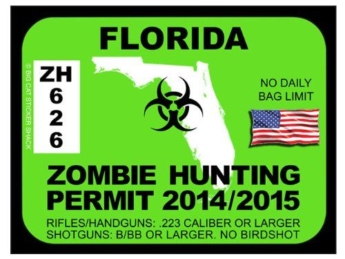 Florida Zombie Hunting Permits