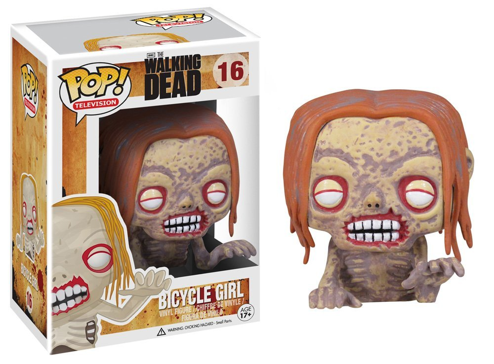 Funko POP Walking Dead Bicycle Girl Zombie Vinyl Figure