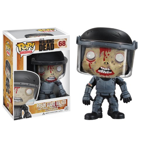 Funko POP Walking Dead Prison Guard Zombie Vinyl Figure
