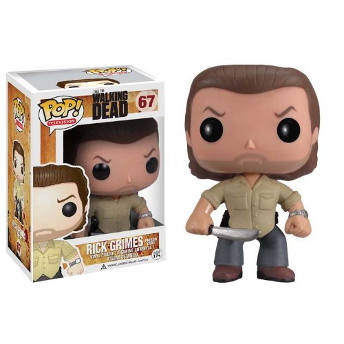 Funko POP Walking Dead Prison Yard Rick Grimes Vinyl Figure