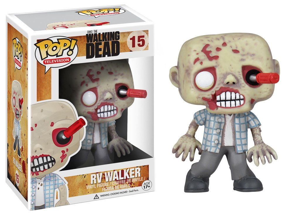 Funko POP Walking Dead RV Walker Zombie Vinyl Figure