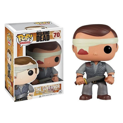 Funko POP Walking Dead the Governor Bandaged Vinyl Figure