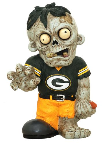 Green Bay Packers Zombie Figurines