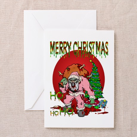 Ho Ho Horror Greeting Cards (Pk of 10