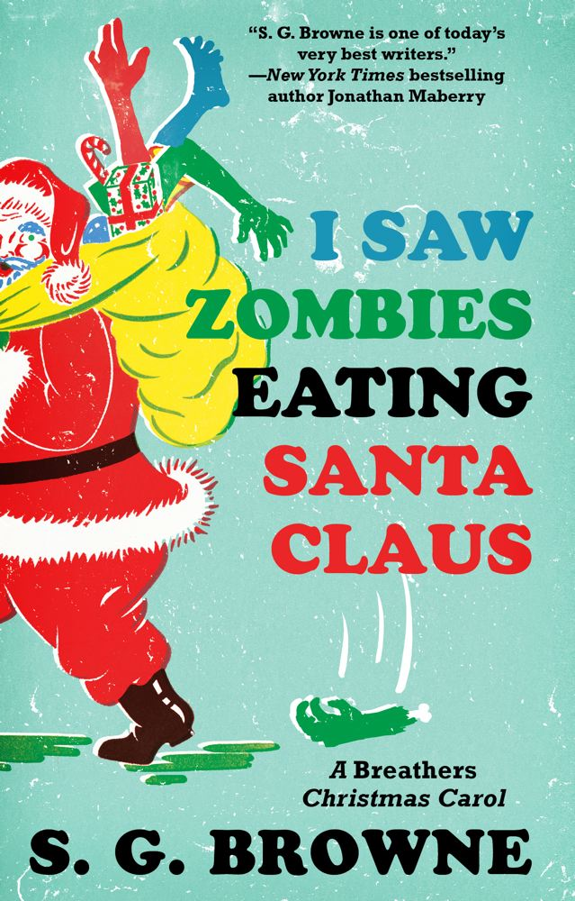 Twas the Zombie Night Before Christmas