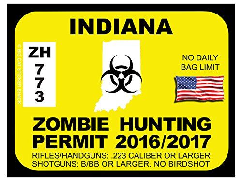 Indiana Zombie Hunting Permits