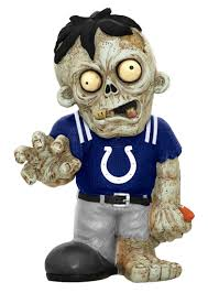 Indianapolis Colts Zombie Figurines