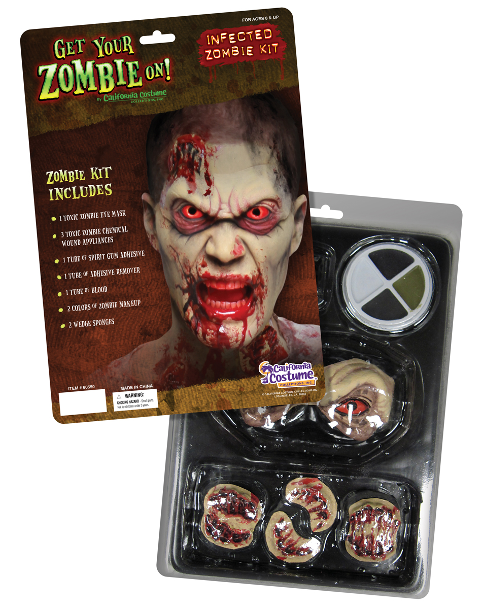 Best Zombie Makeup & Kits