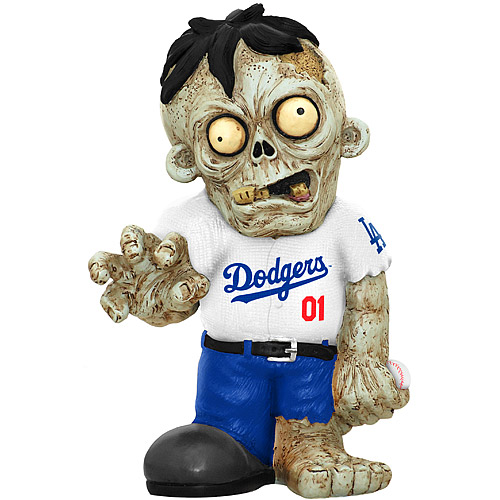 Los Angeles Dodgers Zombie Figurines