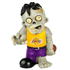 Los Angeles Lakers Zombie Figurines