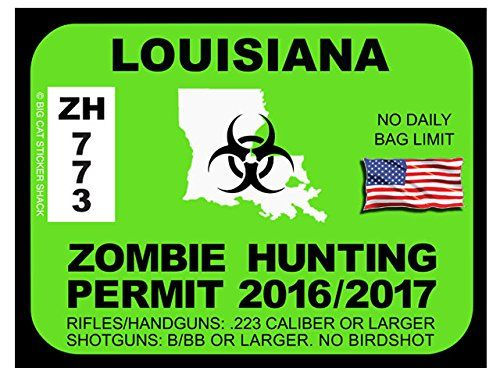 Louisiana Zombie Hunting Permits