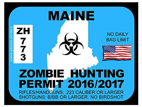 Maine Zombie Hunting Permits
