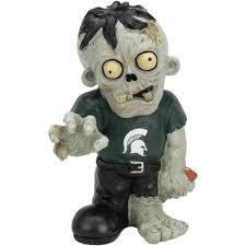 Michigan State Zombie Figurines