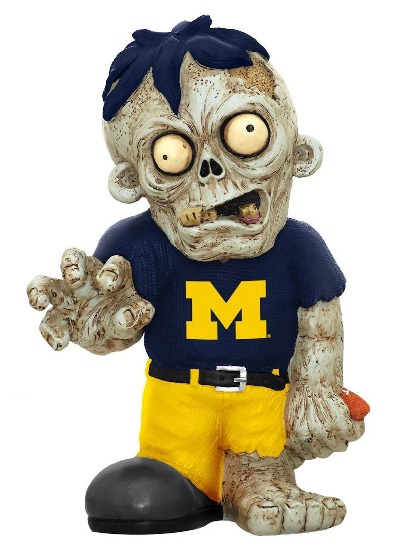 Michigan Zombie Figurines