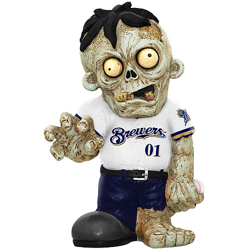 Milwaukee Brewers Zombie Figurin