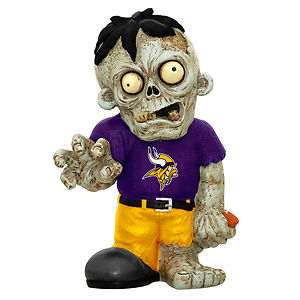 Minnesota Vikings Zombie Figurines