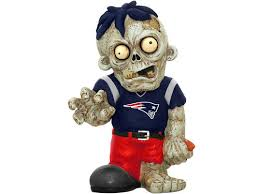 New England Patriots Zombie Figurines