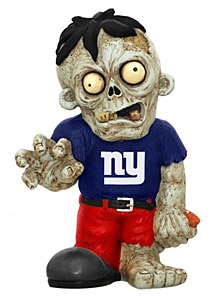 New York Giants Zombie Figurines