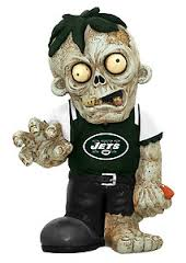New York Jets Zombie Figurines