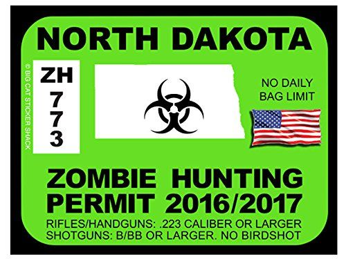North Dakota Zombie Hunting Permits
