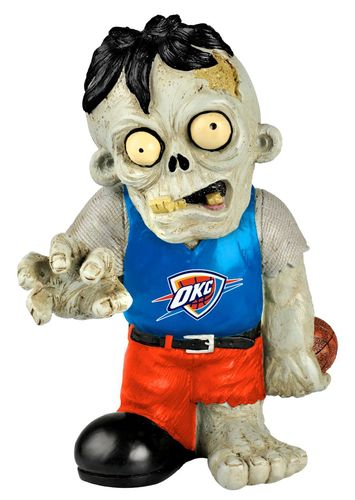 Oklahoma City Thunder Zombie Figurines