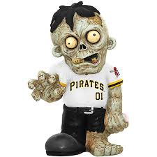 Pittsburgh Pirates Zombie Figurines