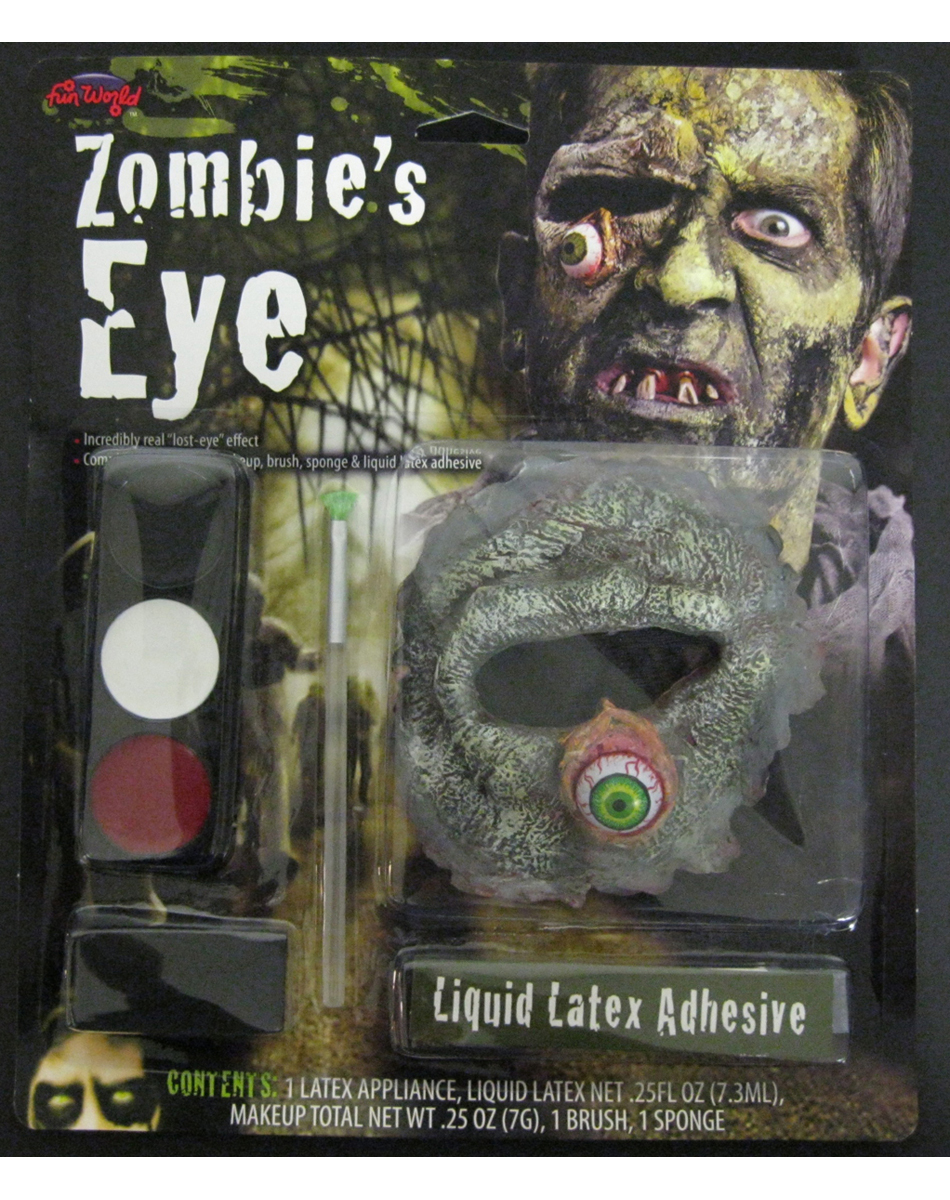 Rotten Zombie Eyeball and Socket
