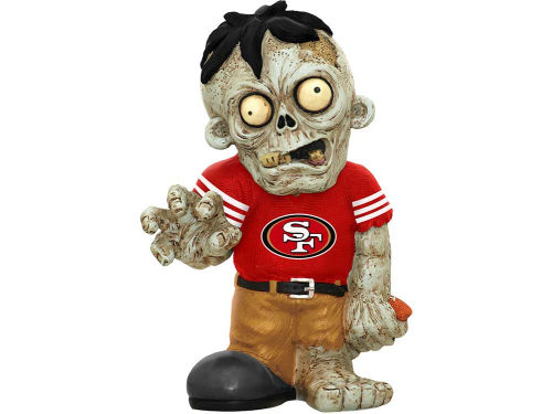 San Francisco 49ers Zombie Figurines