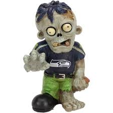 Seattle Seahawks Zombie Figurines