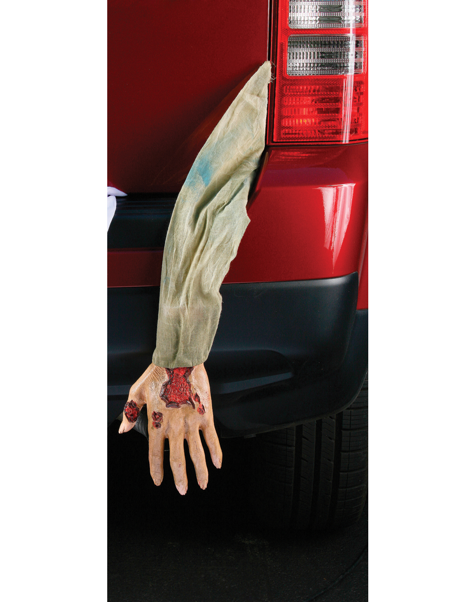 Severed Gray Zombie Arm