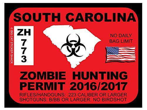 South Carolina Zombie Hunting Permits