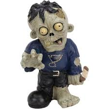 St Louis Blues Zombie Figurines