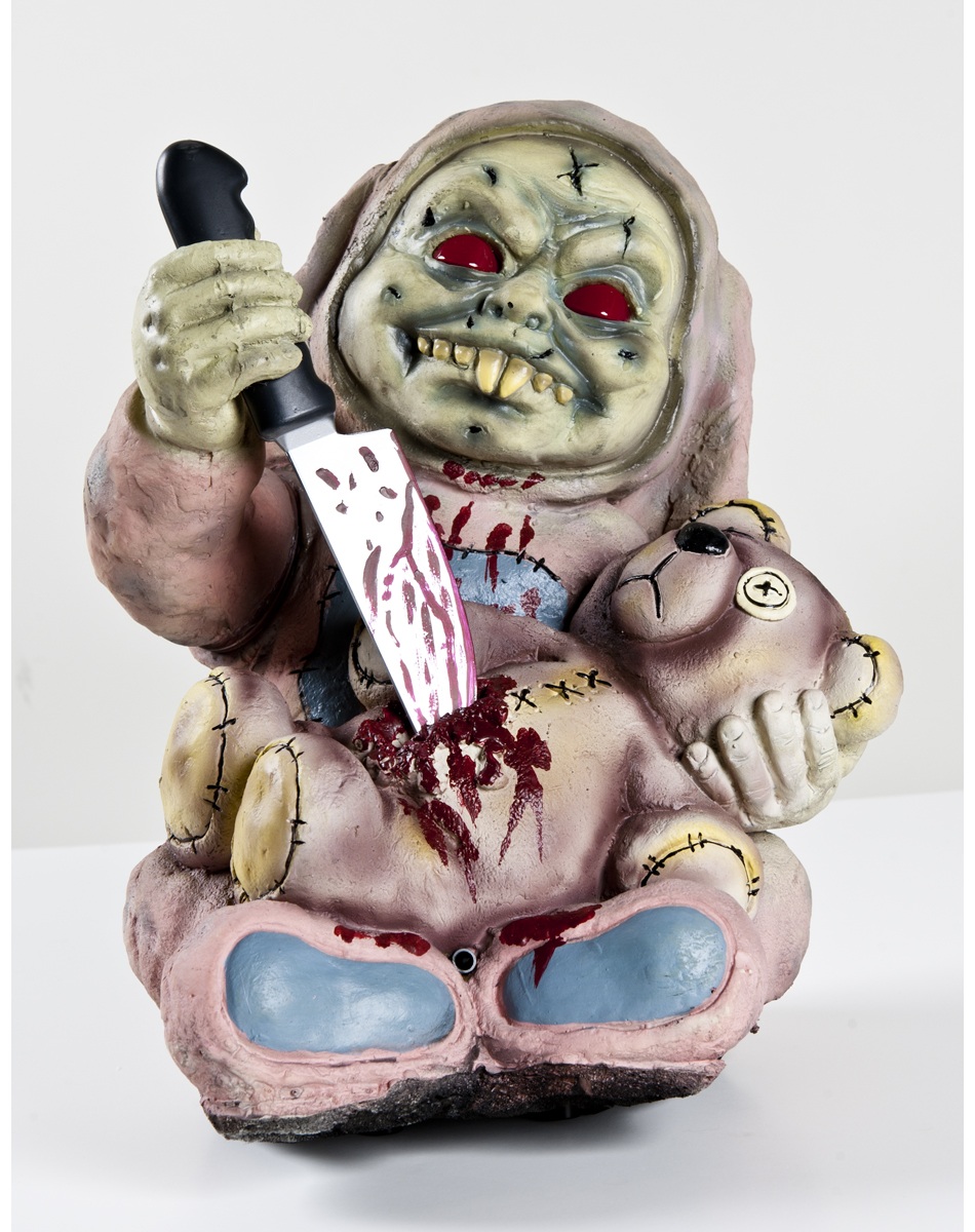 Stabby Zombie Baby Animated Zombie Baby Prop