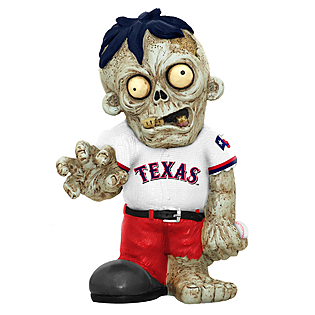 Texas Rangers Zombie Figurines