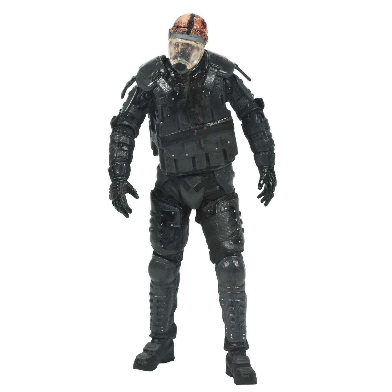 The Walking Dead Action Figure Gas Mask Zombie