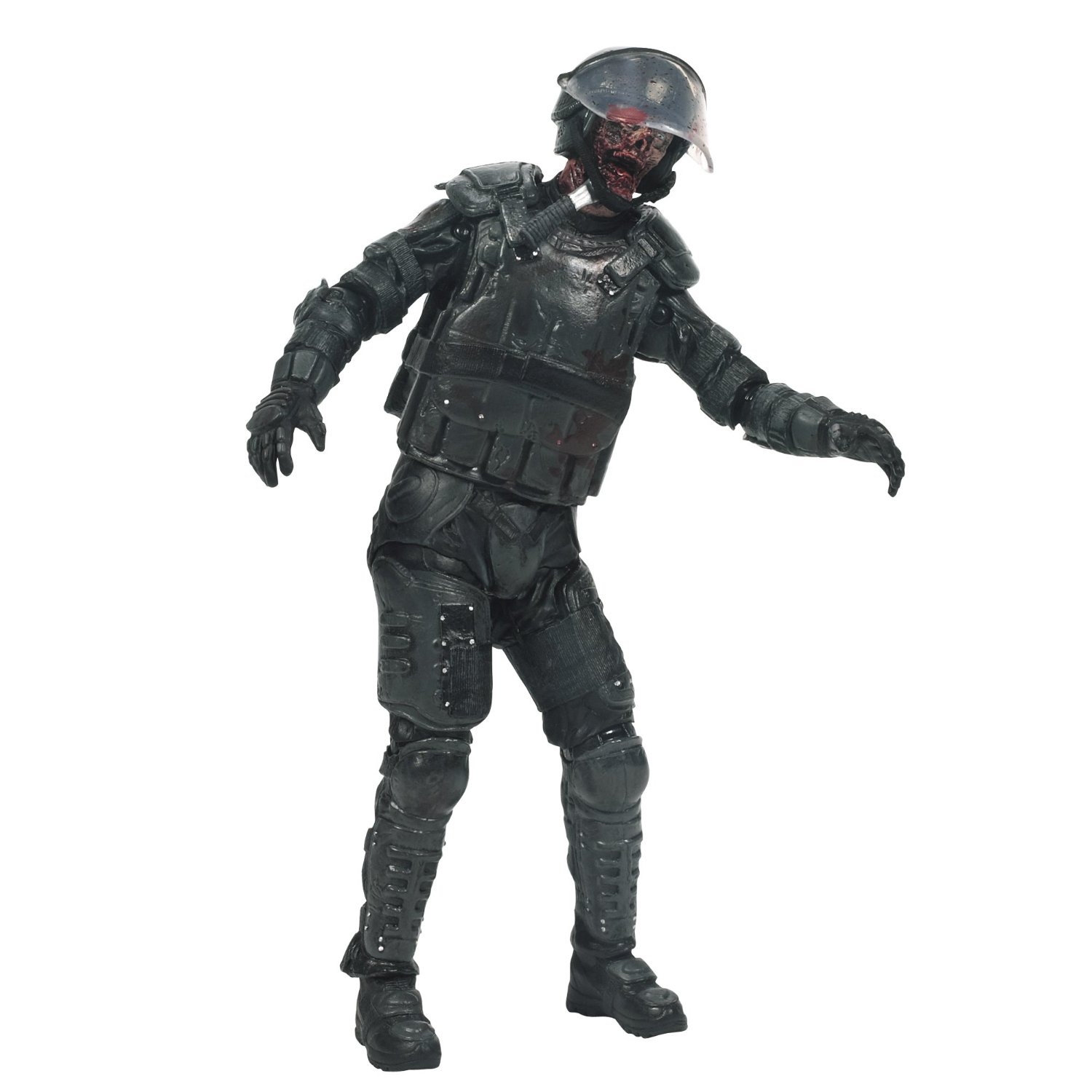 The Walking Dead Action Figure Riot Gear Zombie
