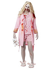 The Walking Dead Adult Bunny Slipper Girl Costume