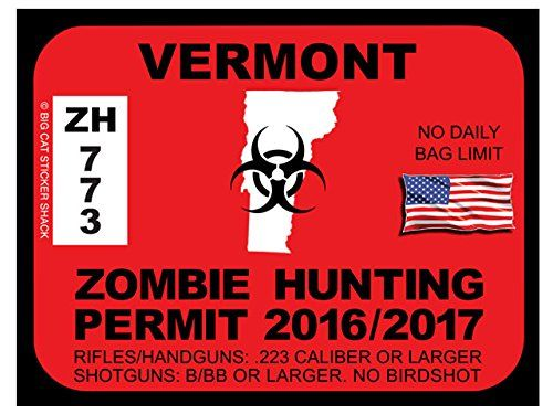 Vermont Zombie Hunting Permits