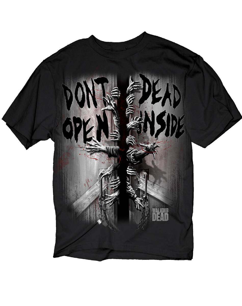 Walking Dead 'Don't Open Dead Inside' T-Shirt