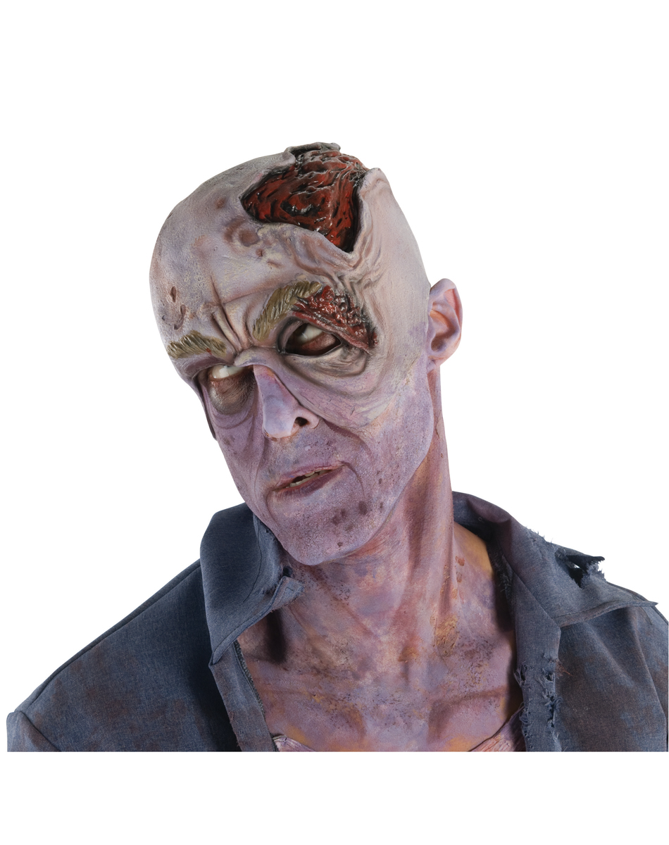 Walking Dead Decaying Head With Collapsed Eye