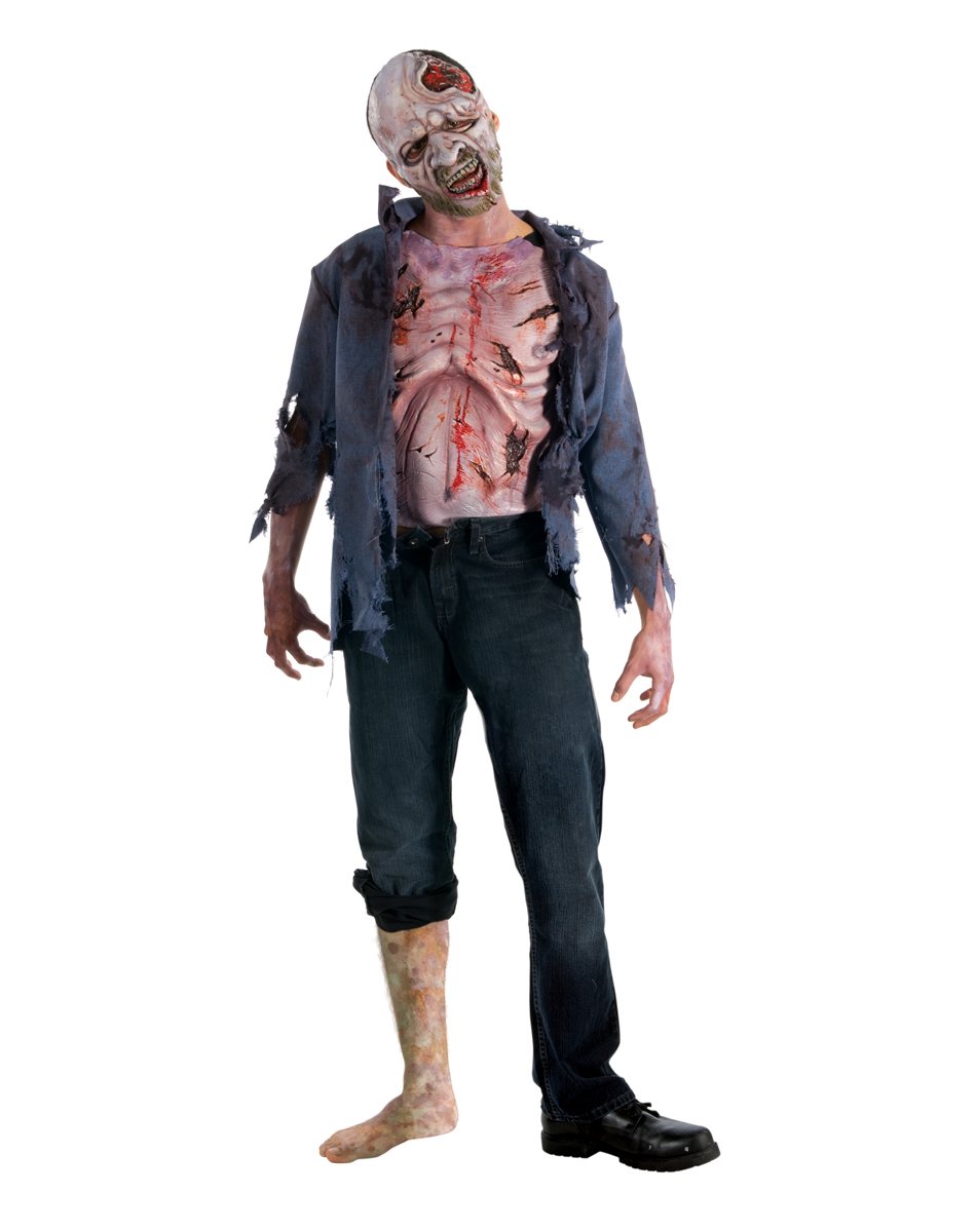 Walking Dead Decomposed Zombie Teen Costume
