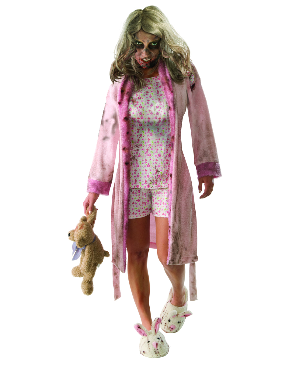 Walking Dead Little Girl Zombie Adult Womens Costume