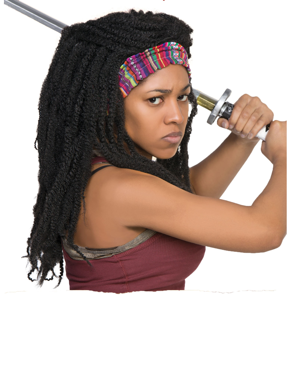 Walking Dead Michonne Wig